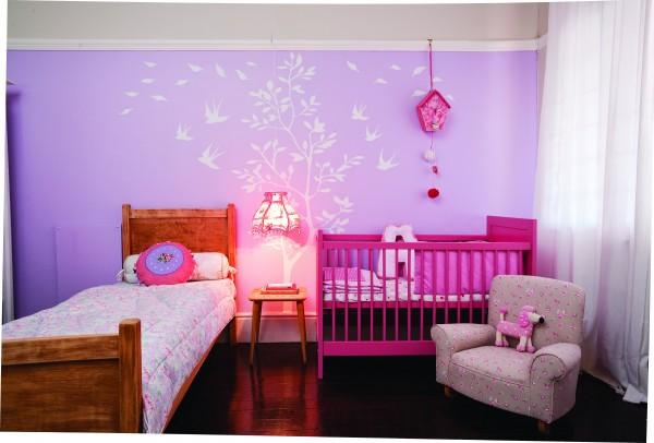 Paarse Slaapkamer Spullen : slaapkamer dekor idees : Heerlike pienk en ...